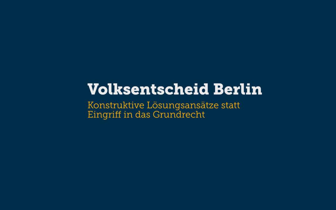 Volksentscheid Berlin: Deutsche Wohnen & Co. enteignen?